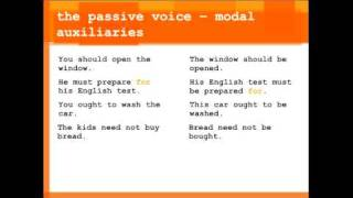 Perfect English: The Passive Voice