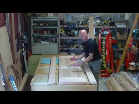 making doors - Building interior doors from rough lumber.