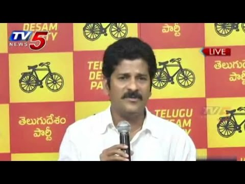 KCR Scapegoat Of Telangana People, Says Revanth Reddy  : TV5 News