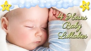 Video 4 Hours Soothing Baby Bedtime Music ♥♥♥ Brahms Lullaby ♫♫♫ Mozart Twinkle Hushaby MP3, 3GP, MP4, WEBM, AVI, FLV Maret 2019