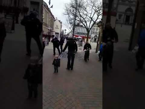Scammers at it again in Stafford town centre.