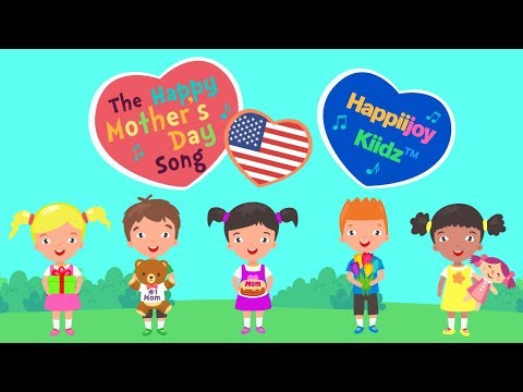 The Happy Mother's Day Song (U.S.A) | Mothers Day Song | Kids Song  | Lyrics