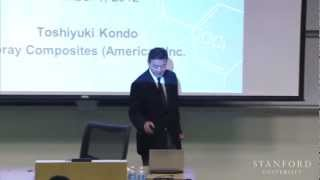 Stanford Seminar -Toshiyuki Kondo On Innovation In Carbon Fiber Business