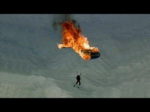 rischia la vita ma poi...grande stunt!!