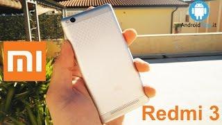 RECENSIONE COMPLETA: http://goo.gl/MFbylhACQUISTA QUI: http://goo.gl/UTdQQsXiaomi ha recentemente presentato il nuovo Redmi 3, e noi lo abbiamo già provato. Scoprite tutti i dettagli nella nostra review.seguici su: www.androidblog.itFacebook: www.facebook.com/androidblogTwitter: @AndroidBlogitGoogle+: https://plus.google.com/u/0/100681746348114222391Migliori smartphone non Android https://www.youtube.com/user/agemobile/videos