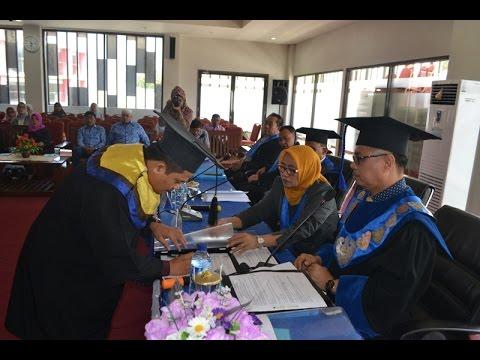 Sidang Ujian Terbuka Dr.Rahmat Mubaraq J. 203 12 007 Program Doktor Bidang Ilmu Pertanian Konsentrasi Ilmu Agribisnis Pascasarjana Universitas Tadulako Palu. 18 Januari 2016 Di Media Center Lantai II Untad