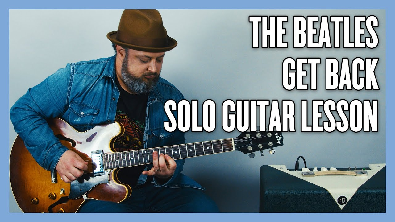 Get Back Solo + Lead Electric Guitar Techniques