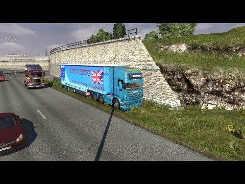 Euro Truck Simulator 2 EPISODE 115 LEWIS 92 HITS WALES