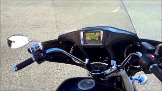 5. 2013 Yamaha V-Star 1300 Deluxe Blue Gps Bagger @ Alcoa Good Times