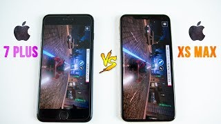 Video iPhone XS Max vs iPhone 7 Plus SPEED Test - Think Twice Before Upgrading! MP3, 3GP, MP4, WEBM, AVI, FLV Februari 2019