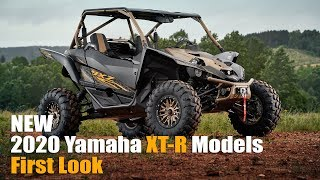 3. 2020 Yamaha XT-R  Edition YXZ1000R, Wolverine X2, X4, and SXS Lineup First Look