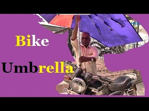 Bike Umbrella to beat Summer Heat