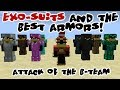 Attack of the B-Team - Exo Suits and the Best Armors