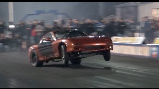 ROWDY 1000HP 13B RX7 Cracks 7's - Bacon RX7 by  That Racing Channel