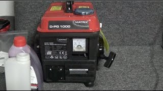 I recently decided to buy a new generator since i had a lot of issues with the old cheap einhell one I bought a couple of months ago that it would blow up all the stuff i connected to it since it did not have surge protection and in general the voltage was not stable +/- 50V wich really is not good for anything that has a switching power supply in it. After doing some research on how to solve these issues I found out about Inverter Generators. The way these work is they generate a Low DC Voltage like 12V wich then passes through an Inverter and gets boosted to 230V AC. Because of the Inverter the Voltage is almost stable. Furthermore the Generator does not continuously adjust the rpm to a fixed value and also can run at lower speeds