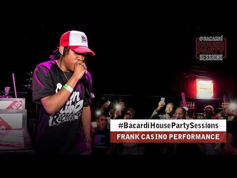 Watch Frank Casino's #BacardiHousePartySessions Performance