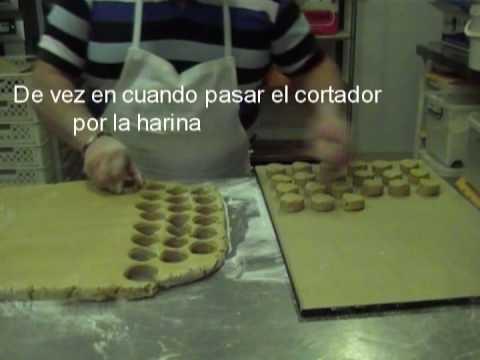 Como elaborar mantecados pasrte II