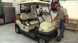 6. How to Remove Body on Club Car Precedent Golf Cart (Part 1)