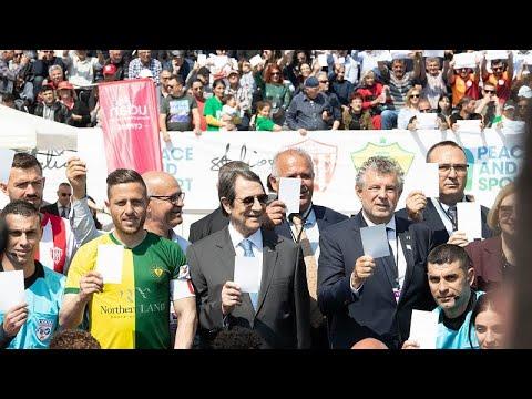 «Ειρήνη στην Κύπρο»: Φιλικός αγώνας Νέας Σαλαμίνας – MTG FC στην Πύλα…