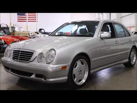 2000 Mercedes amg e55 фотография