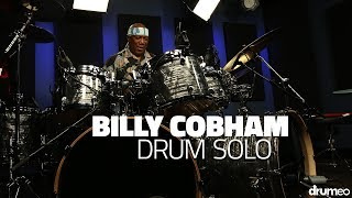 """New drum solo coming every Sunday!William Emanuel """"Billy"""" Cobham, arguably the epitome of the fusion drummer, is an American composer, bandleader, and educator with an extensive list of accomplishments - and we are so honored to have been able to host him in our studio.Having inspired drummers such as Carter Beauford and Dennis Chambers, Billy is one of the most influential drummers in history. You don't want to miss this lesson where he breaks down the fundamentals and nuances of creating a tight rhythm section in music:►http://www.Drumeo.com/blog/billy-cobham-drum-lessons/Try Drumeo Today:►http://www.Drumeo.com/trial/Follow us! ►Facebook: http://www.facebook.com/drumeo/►Instagram: http://www.instagram.com/drumeoofficial/"""