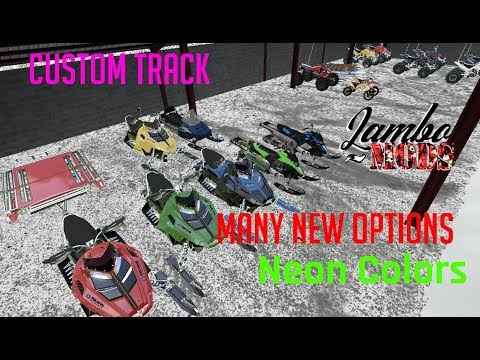 FS17 Polaris Rush Snowmobile v1.0