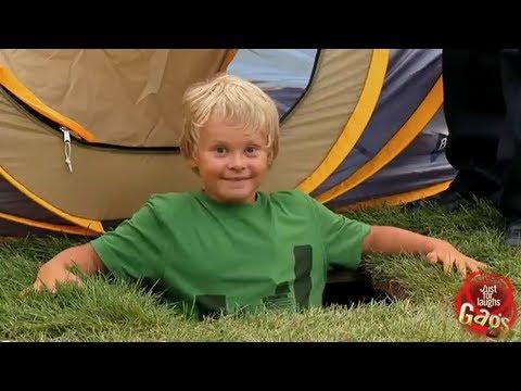 Dennis The Menace Vanishes In Tent Prank