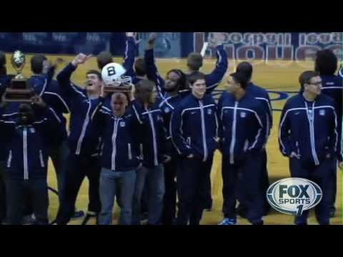 Butler Football Honored at Media Timeout