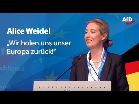 ❝Die EU ist Irrsinn!❞ | Alice Weidel in Pforzheim