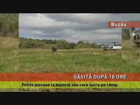 Fetița de 8 ani, din Buzău, a fost găsită după 18 ore de la dispariție