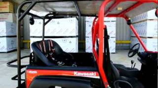 10. 2009 Kawasaki Teryx 750 4X4 FI With Extended Cage and Rear Seat