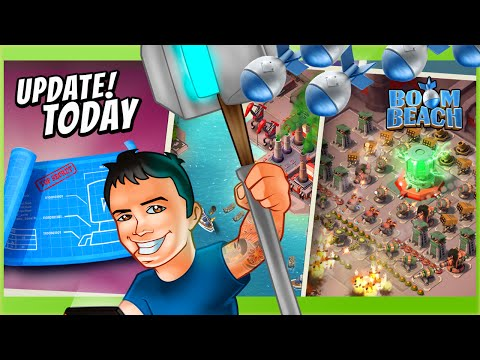 update - Task Forces Released! New Boom Beach Social Update! Boom Beach & Clash of Clans Gameplay! High Level Strategy, Updates & more! ✓Subscribe Today!: http://goo.gl/2qkJ8I ✓Get Free Gems &...