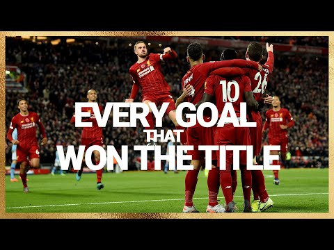 Every goal that secured the Premier League title | 70 Liverpool strikes 2019/20