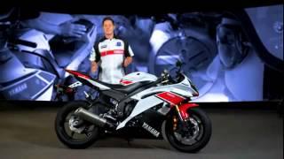 10. 2012 Yamaha YZF R6 walk around USA promotional video