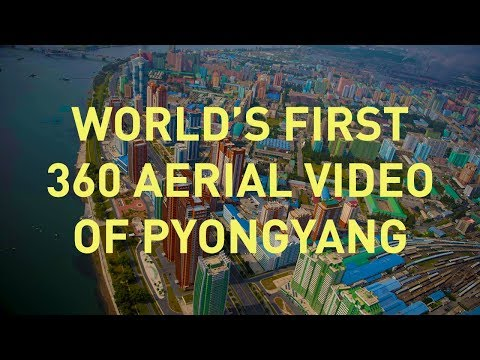 World's First Aerial 360 Video Over North Korea 2017 (видео)