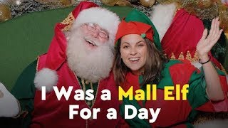I Was a Mall Elf For a Day by POPSUGAR Girls' Guide