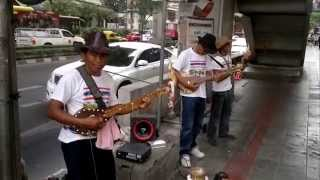 Isaan street band, Bangkok (กองอีสาน)