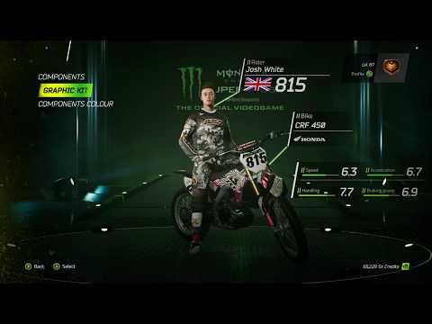 Monster Energy Supercross - Themed Liveries & Tracksuits DLC