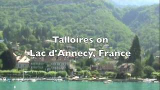 Talloires France  city photos : Talloires on Lac d'Annecy, France