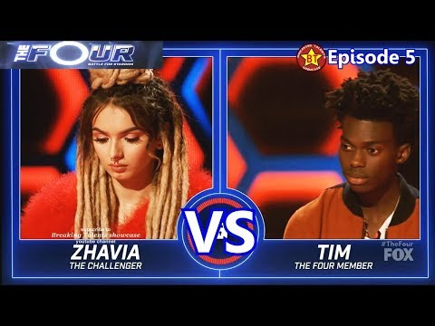 Zhavia Vs Tim Johnson Jr Performance With Results &comments The Four S01e05 Ep 5