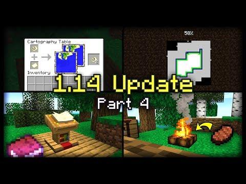 Các cập nhật mới trong phiên bản minecraft 1.14 - Phần 4 - Thời lượng: 6:13.