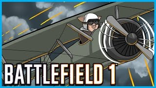 Battlefield 1 Multiplayer Gameplay! WW1 Weapons, Planes, Behemoth Airship, Tanks, Sniping and More!
