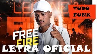 MC Denny - Jogando Free Fire (LETRA)