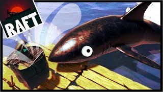 THIS SHARK HAS ZERO CHILL?! | Raft Survival Game