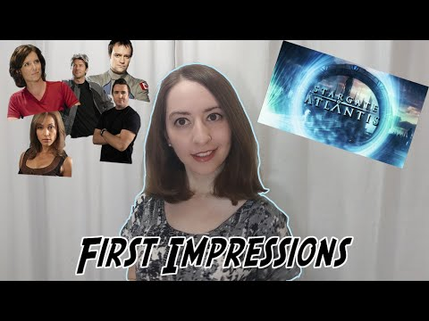 Girl Watches Stargate: Atlantis for the First Time [Pt.1]