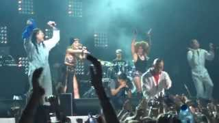 Far East Movement - Turn up the Love, Live My Life, Light Up, Like a G6 Concert, Stadium Live Moscow