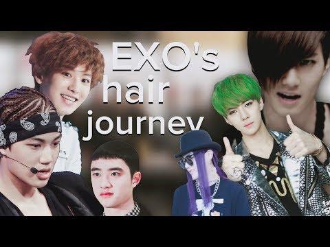 EXO'S BESTish HAIRSTYLES