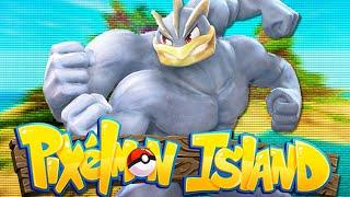 Minecraft: PIXELMON ISLAND SMP - Episode 19: THE BIGGEST MACHAMP IN PIXELMON! (Pokemon Mod)