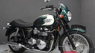 1. 2009  TRIUMPH  BONNEVILLE T100 - National Powersports Distributors