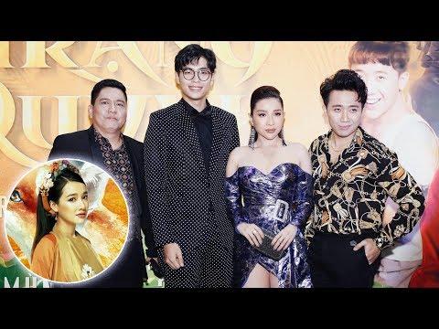 Nữ chính Nhã Phương VẮNG MẶT trong buổi ra mắt phim Trạng Quỳnh - Thời lượng: 10 phút.